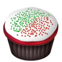 Cupcakes Christmas png icon