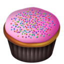 Cupcakes Pink png icon