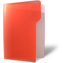 folder red open Png Icon