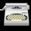 typewriter large png icon
