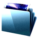 deepsea blue Icon 01 Png Icon