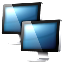 deepsea blue Icon 03 Png Icon