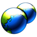 deepsea blue Icon 45 Png Icon