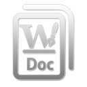 DOC W Png Icon