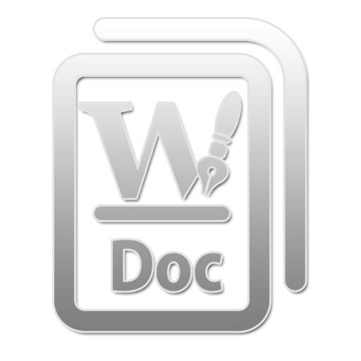 DOC W large png icon