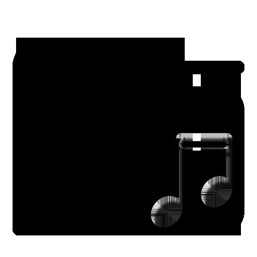 Folder Music 2 large png icon