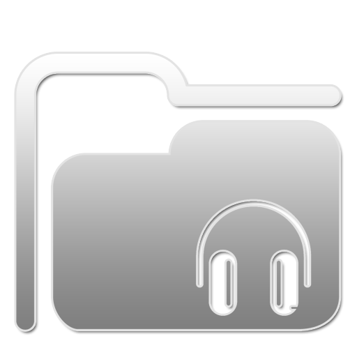 Folder Music W large png icon