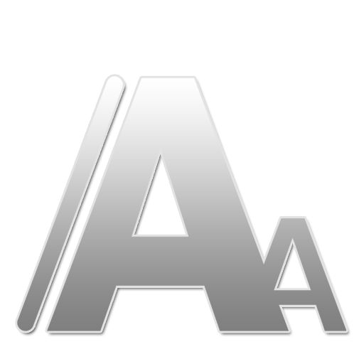 Fonts W large png icon