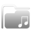 Folder Music W 2 large png icon