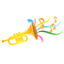 trumpet png icon