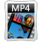 MP 4 large png icon