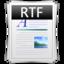 rtf large png icon