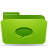 folder green conversations Png Icon