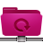 folder remote backup pink Png Icon