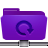 folder remote backup violet Png Icon