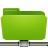 folder remote green Png Icon