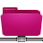 folder remote pink Png Icon