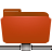 folder remote red Png Icon