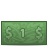 one dollar Png Icon