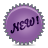 splash new violet Png Icon