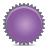 splash violet Png Icon