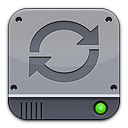 Disk Silver Sync Png Icon