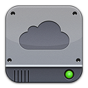 iDisk Silver Png Icon