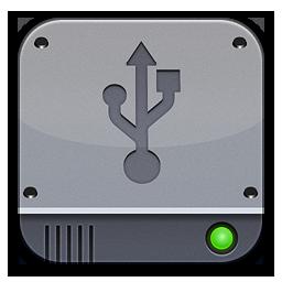 Disk Silver USB