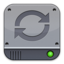 Disk Silver Sync large png icon