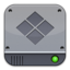 Disk Silver Windows large png icon