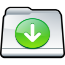 my downloads Png Icon