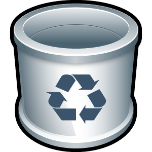 trash large png icon