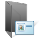 contacts folder Png Icon