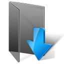 downloads folder Png Icon