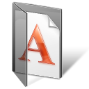 font folder Png Icon