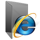 IE 7 Folder Png Icon