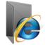 IE 7 Folder (2) large png icon
