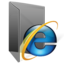 IE 7 Folder large png icon
