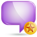 chat 1 fav Png Icon