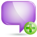 chat 1 plus Png Icon