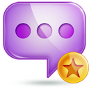 chat 2 fav Png Icon