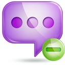 chat 2 minus Png Icon