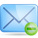 mail minus Png Icon