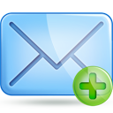 mail plus Png Icon