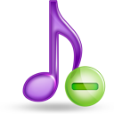 music minus Png Icon