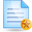 notepad fav Png Icon