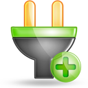 plug plus large png icon