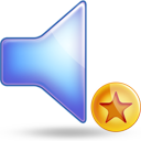 sound fav Png Icon