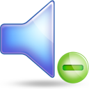 sound minus Png Icon