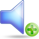 sound plus large png icon